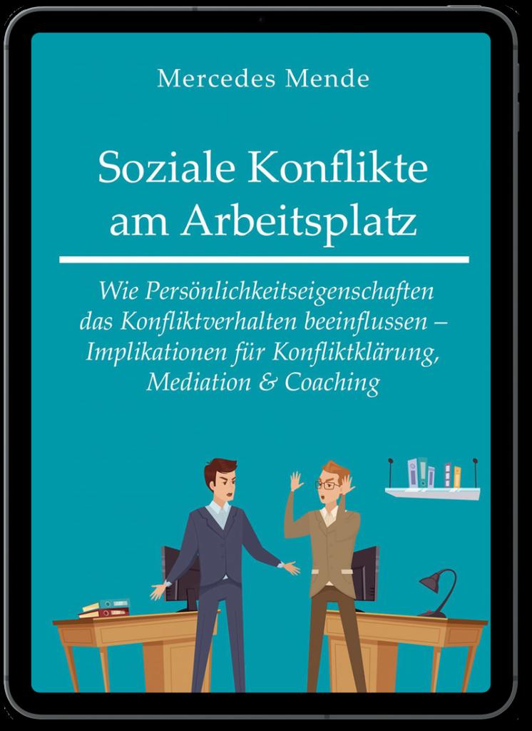 """Mercedes Mende - Buchveröffentlichung """"Konflikte am Arbeitsplatz"""""""